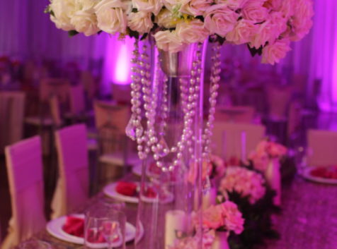 palace events centerpiece
